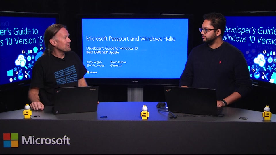 Moving beyond passwords and credential theft with Microsoft Passport and  Windows Hello