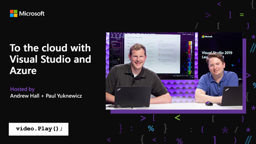 To the cloud with Visual Studio and Azure