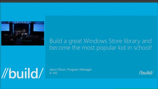 Build a Great Windows Store library/SDK and Become the Most Popular Kid in School