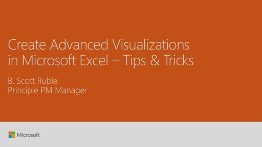 Create advanced visualizations in Microsoft Excel - tips and tricks