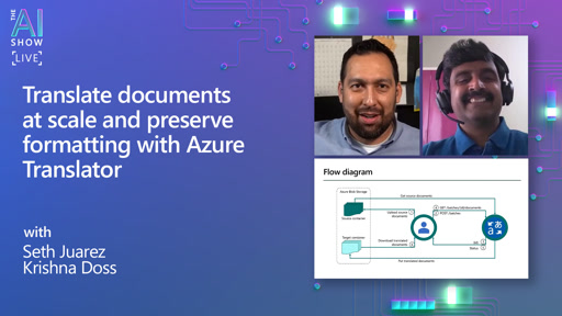 Translate documents at scale and preserve formatting with Azure Translator