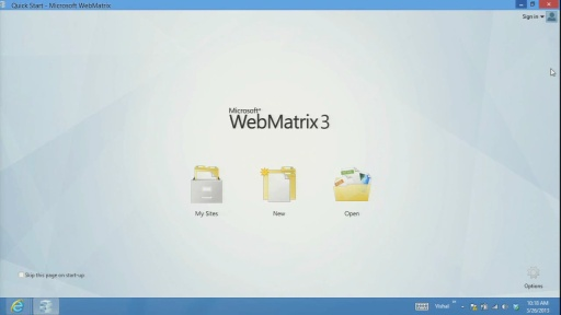 Vishal Joshi Introduces WebMatrix 3