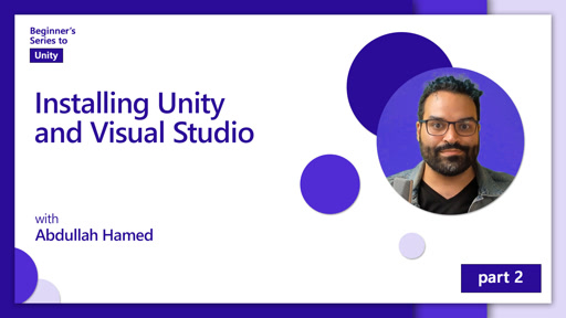 Installing Unity and Visual Studio [2 of 7]