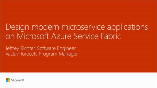 Design modern microservice applications on Microsoft Azure Service Fabric