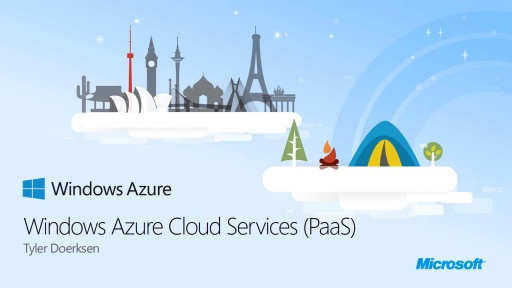 Windows Azure Cloud Services (PaaS)