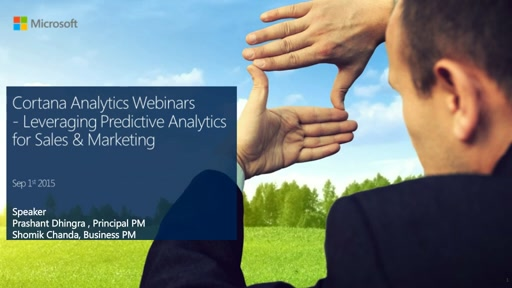 Leveraging Predictive Analytics for Sales & Marketing