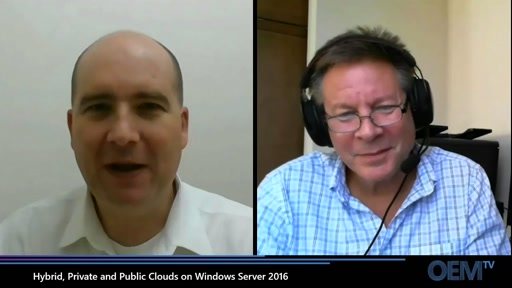 Hybrid, Private and Public Clouds on Windows Server 2016