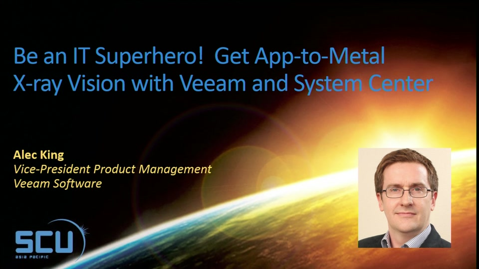 Sponsor Session: Be an IT Superhero! Get App-to-Metal X ...