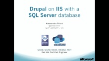 9. Drupal on IIS with SQL Server