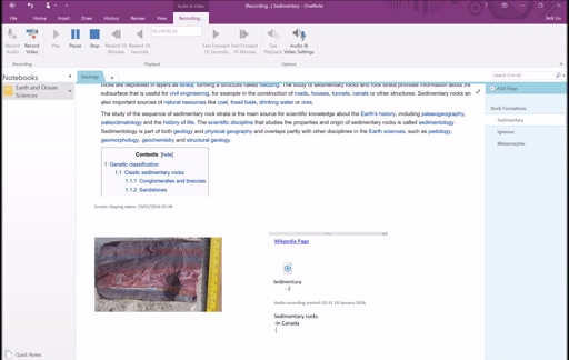 Section 3: OneNote Content Generation