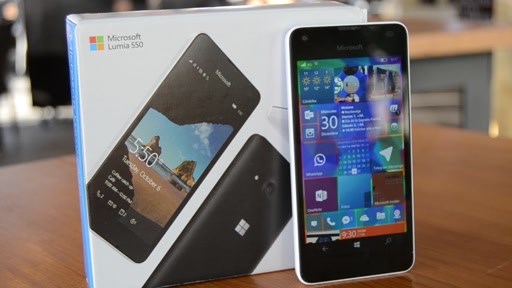 Review completa Lumia 550