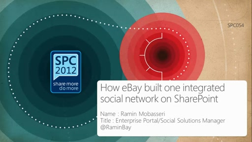 Customer Showcase: How eBay built one integrated social network on SharePoint