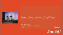 Deep dive on WinJS ListView