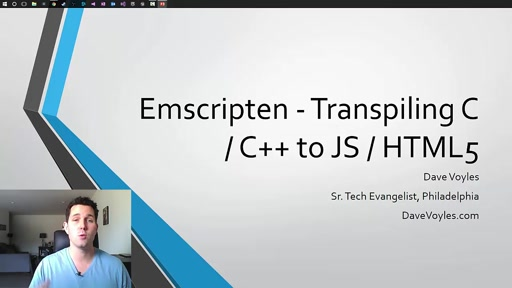 Getting started with Emscripten – Transpiling C / C++ to JavaScript / HTML5