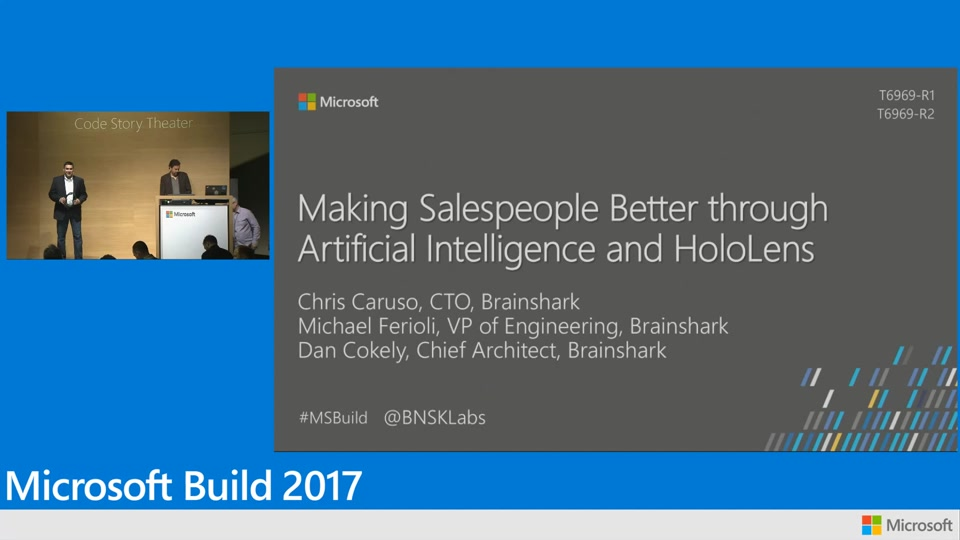 How Brainshark is making salespeople better through artificial intelligence and Microsoft HoloLens