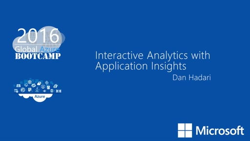 Interactive Analytics with Application Insights