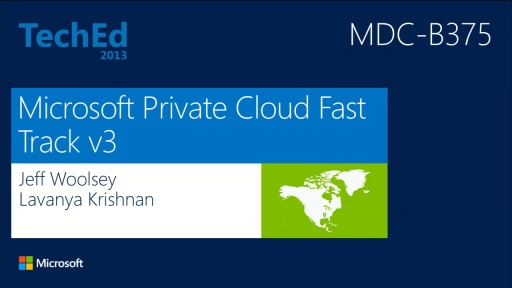 Microsoft Private Cloud Fast Track v3: Private Cloud Reference Architecture Based on Windows Server 2012 and Microsoft System Center 2012 SP1