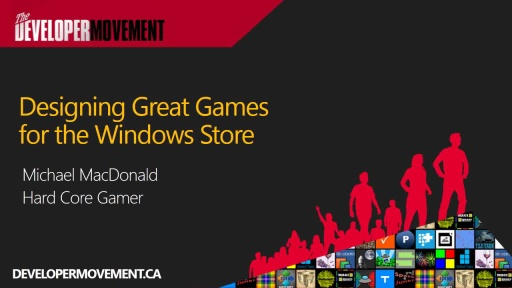 Designing Great Games for the Windows Store