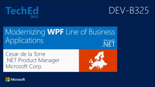 Modernizing WPF Line-of-Business Applications