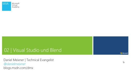 Windows Phone 8 Schnellstart - Modul 2 - Visual Studio