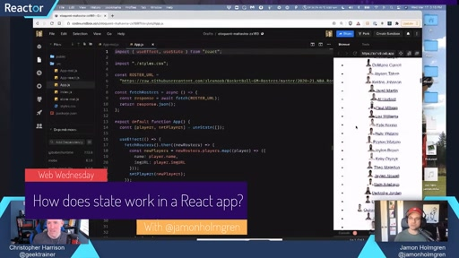 How do I work with state in React?