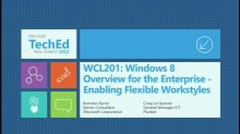 Windows 8: Overview for the Enterprise - Enabling Flexible Workstyles