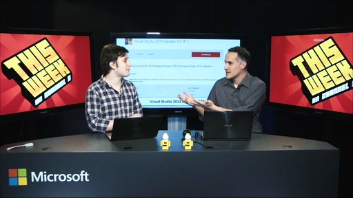TWC9: Visual Studio 2013 Update 3 CTP 1, Code Map, Code Lens for Git and more...