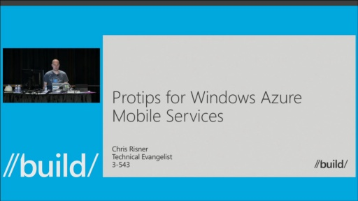 Protips for Windows Azure Mobile Services