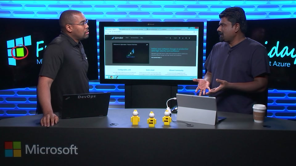 Host Spinnaker on Azure