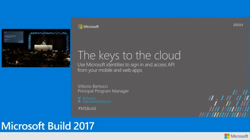 The keys to the cloud: Use Microsoft identities to sign in and access API from your mobile and web apps