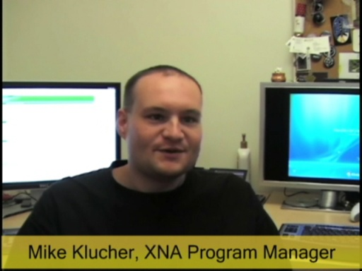 Mike Klucher: XNA Framework games running on Zune