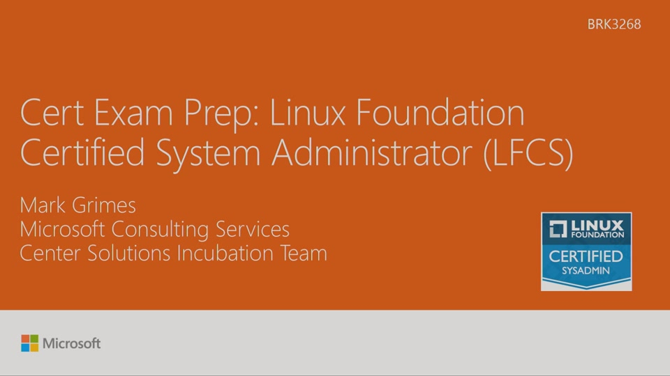 Cert exam prep exam 70 534 architecting azure solutions cert exam prep linux foundation certified system administrator lfcs malvernweather Image collections
