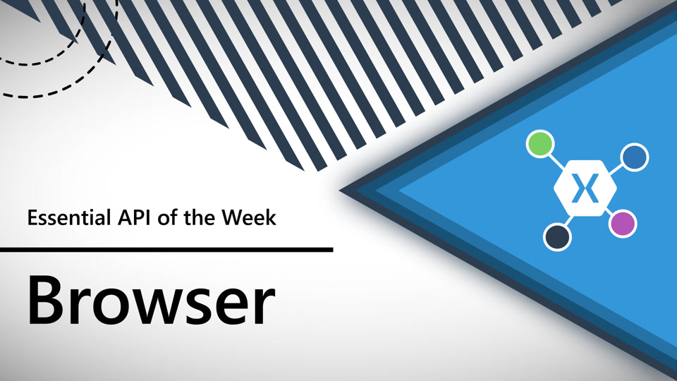 Xamarin.Essentials API of the Week: Open Browser