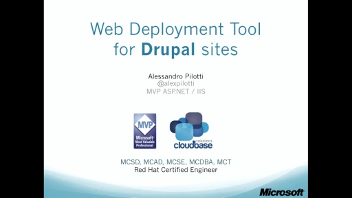 6. Web Deployment Tool for Drupal sites