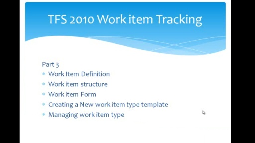 TFS 2010 workitem tracking part 3