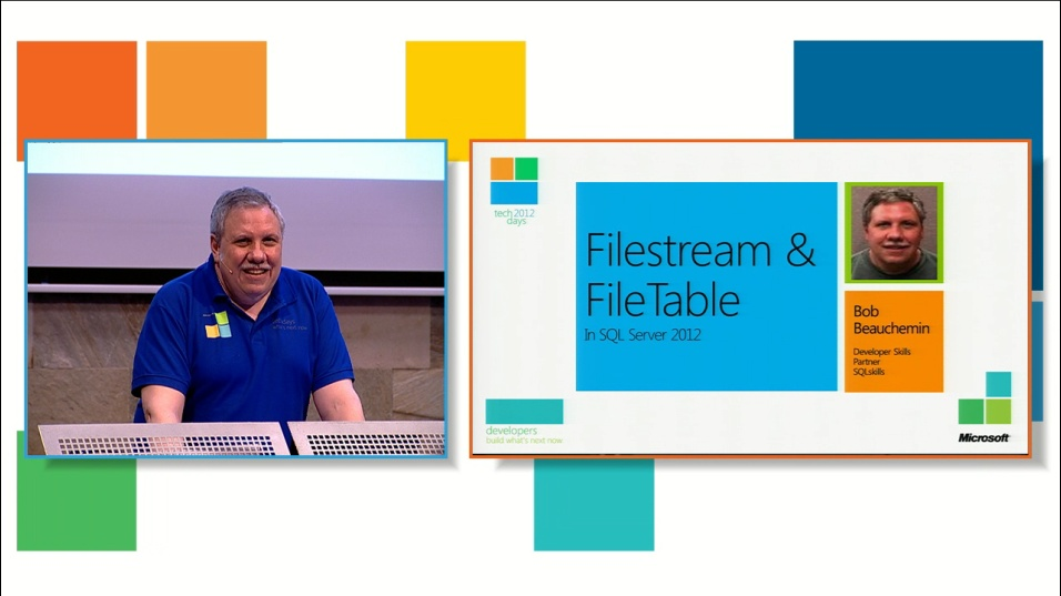 Filestreams and filetables in SQL Server 2012