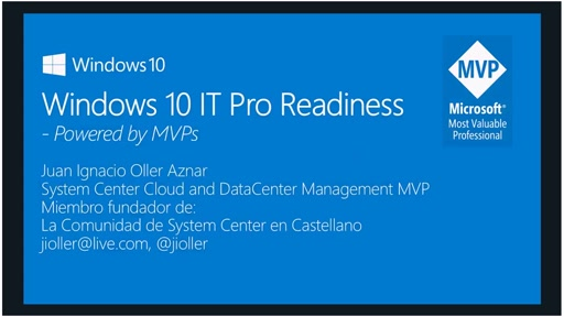 Windows 10 IT Pro Readiness [Spain]