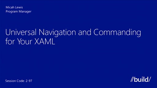 Universal Commanding and Navigation in Your XAML
