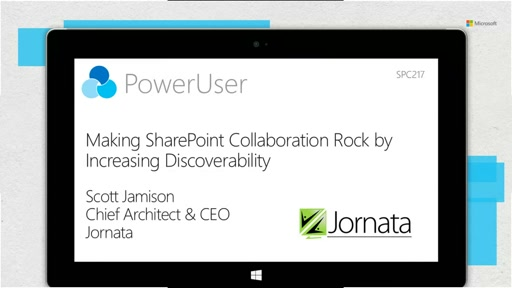 Making SharePoint Collaboration Rock by Increasing Discoverability
