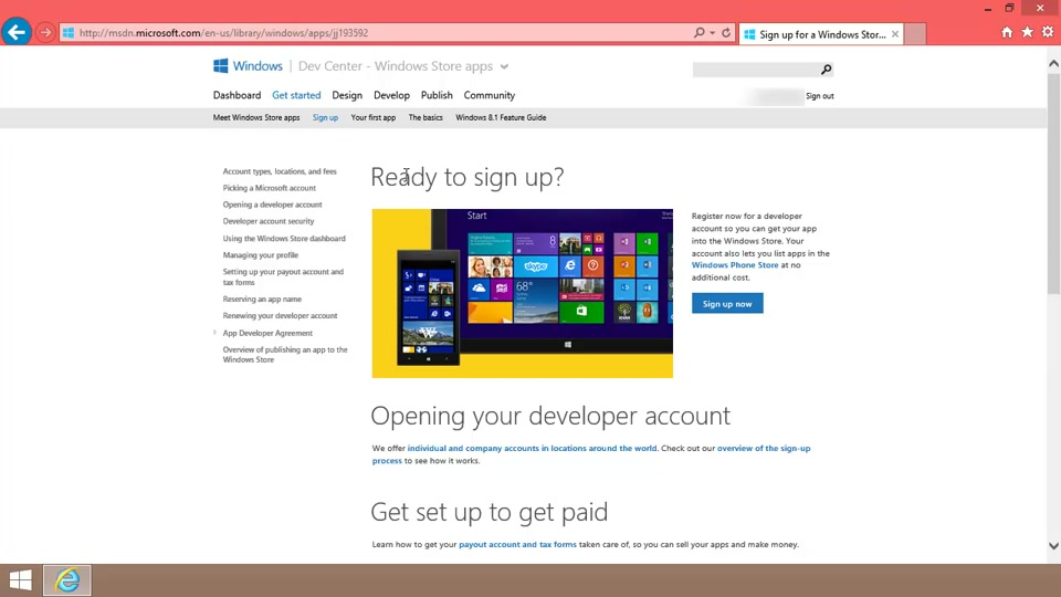 How to publish an App Studio app to the Windows Store