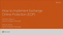 Implement Microsoft Exchange Online Protection