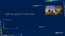 Optimize apps for Surface Hub