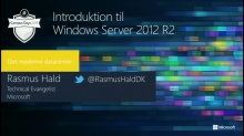 Introduktion til Windows Server 2012 R2