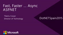 Fast, Faster ... Async ASP.NET