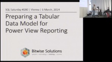 SQL Saturday 280 - Tabular Data Model