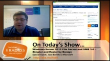TechNet Radio: Windows Server 2012 File Server and SMB 3.0 – Simpler By Design