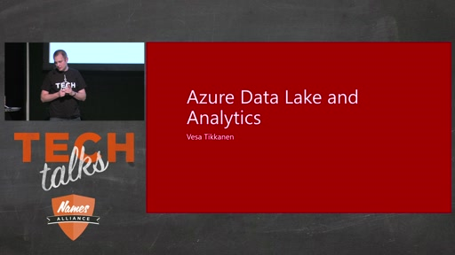 Tech Talks 2016 Flexera Stage Azure Data Lake and Analytics