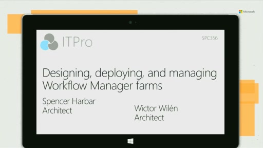 Designing, deploying, and managing Workflow Manager farms