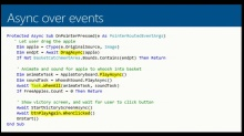 Tip 3: Wrap events up in Task-returning APIs and await them