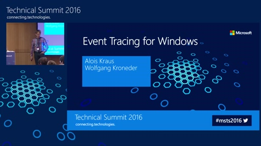 Deep Dive: Event Tracing for Windows